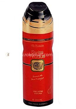 Al-Nuaim Perfume Spary SWISS FIRDAUS - 200 ml (Alcohol Free)