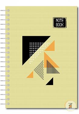 Hearts Stylus Notebook - Cream Color