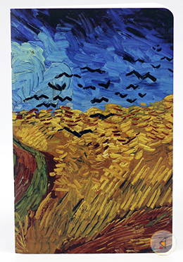 Wheatfield With Crows Desgin Notebook  - (SN201903105)