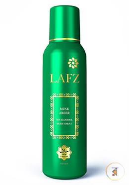 Lafz Body Spray - Musk Abeer (Halal Certified -Alcohol Free)