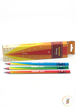 Matador Genius 2B Pencils - 1 Pack