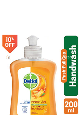Dettol Handwash Re-energize Bottle 200ml