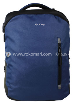 Max School Bag (Black and Blue Color)