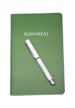 Raw Real Notebook and Pen (SN201904115)