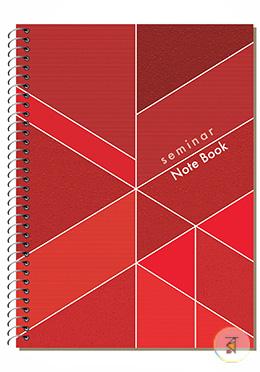 Seminar Notebook - (Dark Red - Red Color)