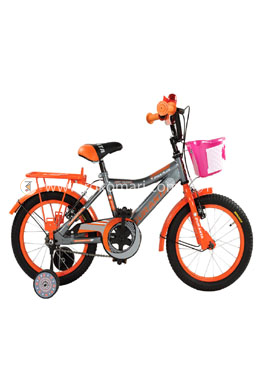 Duranta Ryan Plus Single Speed -16 Inch Cycle-Orange Color (For children)