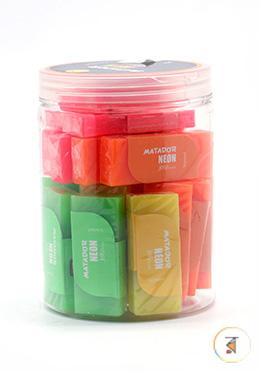 Matador NEON Eraser (Large) - 1 Box (24 Pcs)