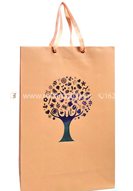 Hearts Smart Gift Bag Small - 01 Pcs (Biscute Color-Any Design)