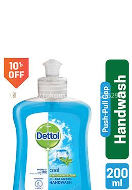 Dettol Handwash Cool Bottle 200ml