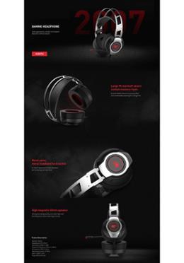 Havit Gaming Wired Headphone (H2007U)