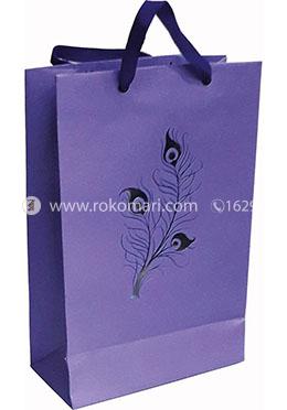 Hearts Smart Gift Bag Small - 01 Pcs (Violet Color-Any Design)
