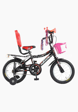 Duranta Ryan Single Speed 12 Inch Cycle-Black Color (For Children)