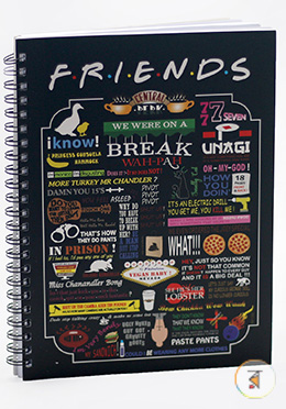 Friends Notebook (FR006)