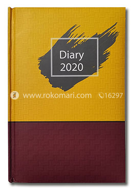 Hearts General Diary-2021(Yellow and Maroon Color Design)