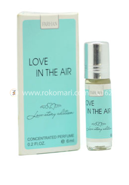 Love In The Air (Love Story Edition) Concentrated Perfume -6ml (Unisex)- Al Farhan