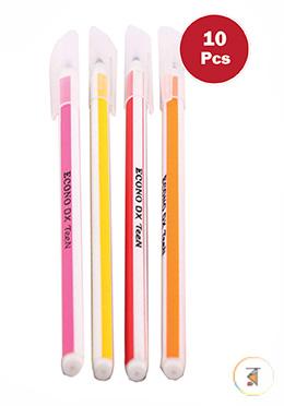 Econo DX Teen Pen (Black - 10 Pcs)