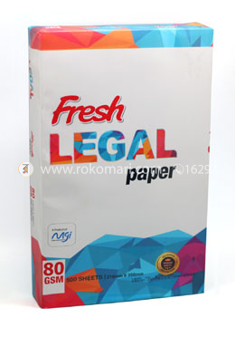 Fresh Legal Paper - 80 GSM (500 Page) - 1 Pack