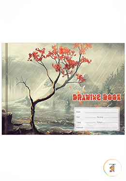 Eco Drawing Book Small - Tree Design