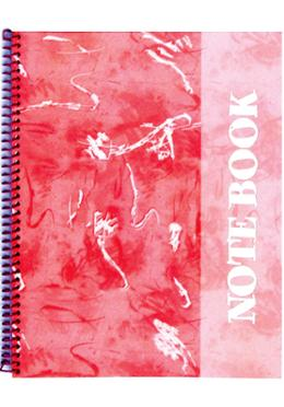 Foiled Notebook (Art Design-Red Color)
