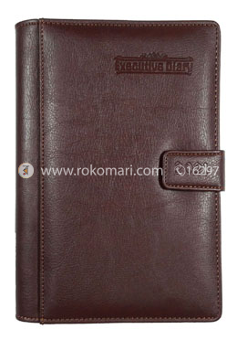 Heart's Executive DIARY - 2021 (Choclate Color)