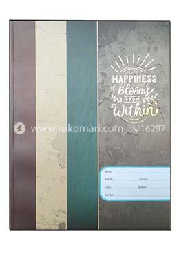 Happiness Design Heart's SMART Binding Khata (Margin) - 120 Pages
