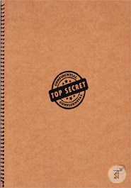 Khata Top Secret Brown (200 page) (RV-21)