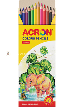Acron Colour Pencil (12 Colours)