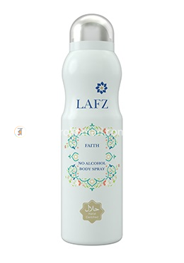 Lafz Body Spray - FAITH For Women (Halal Certified -Alcohol Free)