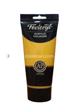 Fevicryl Acrylic Colours (YELLOW OCHRE) - 200 ml