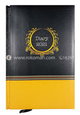 Heart's General DIARY - 2021 (Black and Yellow Color)