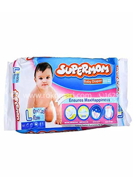 Supermom Baby Diaper-Large Size(9-14kg)-3 Pcs