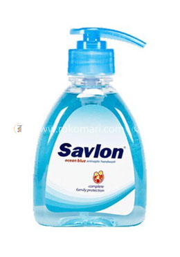 Savlon Hand Wash Ocen Blue 250ml (Bottle)