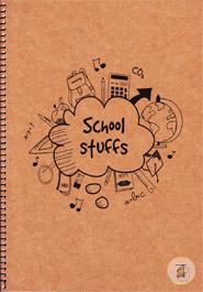 Khata School Stuffs Brown (300 page)(RV-58)