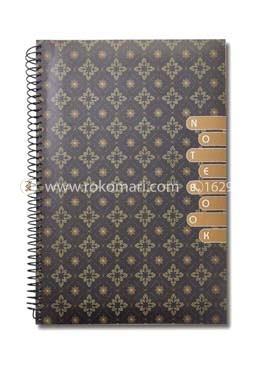 Hearts Essential Notebook - Brown Color