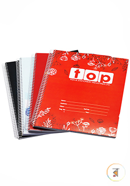 Janani Sprial  200 Page Khata - 01 Pcs (Any Style and Color)