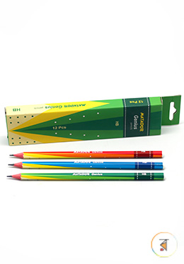 Matador Genius HB Pencils - 1 Pack