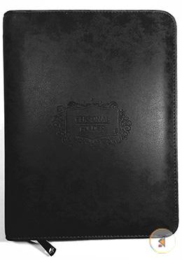 Personal Folder (Black Color)
