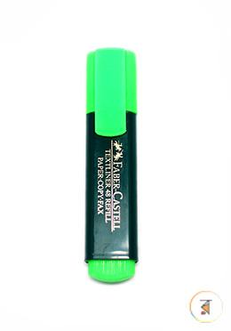 Faber Castell Textliner - Green Color - 01 Pcs