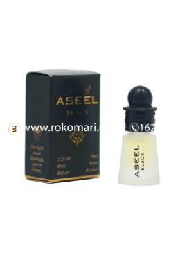 Al-Nuaim Aseel Black Attar-2.25ml