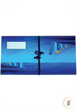 Premium Floral Court File - Blue Color