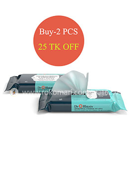 Dr. Rhazes Antibacterial and Virucidal Wet Wipes - 2 Pcs (40 sheets/pack)