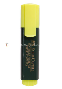 Faber Castell Textliner - Yellow Color - 10 Pcs