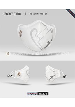 Fabrilife Premium 7 Layer Real Madrid CF Designer Cotton Face Mask