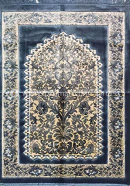 Muslim Prayer Aydin  Pluse Janamaz Turkey- Cyan Color - Any Design
