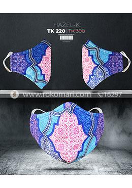 Fabrilife Premium 5 Layer  Hazel Kids Designer Edition Cotton Mask
