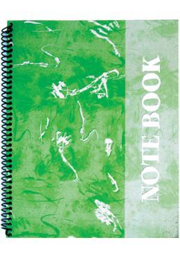 Foiled Notebook (Art Design-Green-Kell Color)