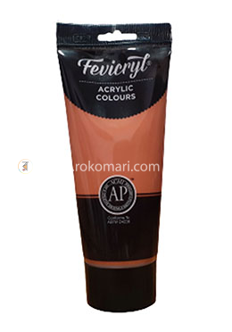 Fevicryl Students Fabric Colours (Burnt Sienna) - 200 ml