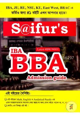 Saifurs: IBA BBA Admission Guide