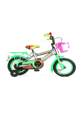 Duranta Extreme Plus Single Speed -12 Inch Cycle-Green Color (For Children)