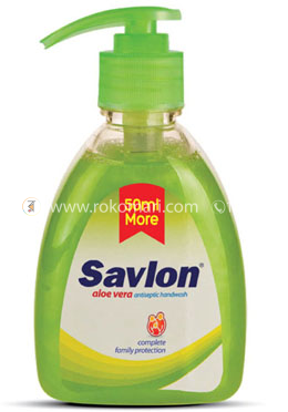 Savlon Hand Wash Alovera 250ml (Bottle)